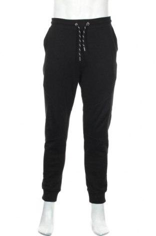 Ανδρικό αθλητικό παντελόνι Just Cavalli, Μέγεθος M, Χρώμα Μαύρο, Βαμβάκι, Τιμή 46,17€