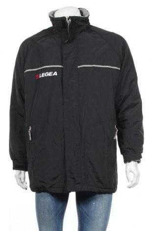 Ανδρικό μπουφάν Legea, Μέγεθος M, Χρώμα Μαύρο, Πολυαμίδη, Τιμή 15,72€