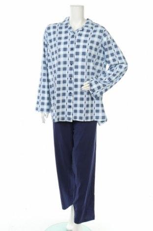 Пижама, Размер XL, Цвят Син, Памук, Цена 48,30лв.