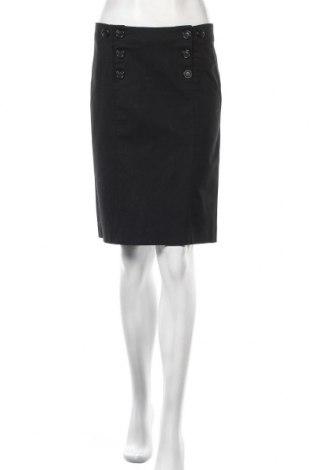Пола H&M, Размер S, Цвят Черен, 96% памук, 4% еластан, Цена 3,49лв.