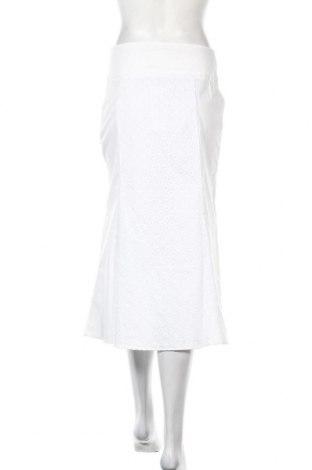 Пола Stefanel, Размер S, Цвят Бял, 96% памук, 4% еластан, Цена 21,13лв.