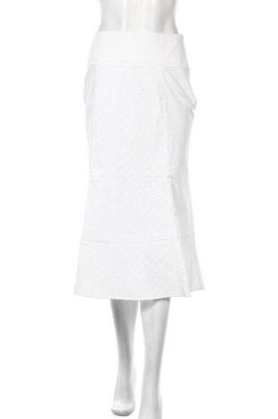 Φούστα Stefanel, Μέγεθος S, Χρώμα Λευκό, 96% βαμβάκι, 4% ελαστάνη, Τιμή 18,03€