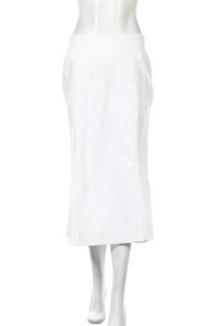 Пола Stefanel, Размер M, Цвят Бял, 96% памук, 4% еластан, Цена 21,05лв.