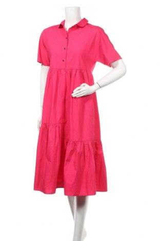 Φόρεμα Apart, Μέγεθος S, Χρώμα Ρόζ , 75% πολυεστέρας, 25% βαμβάκι, Τιμή 86,60€