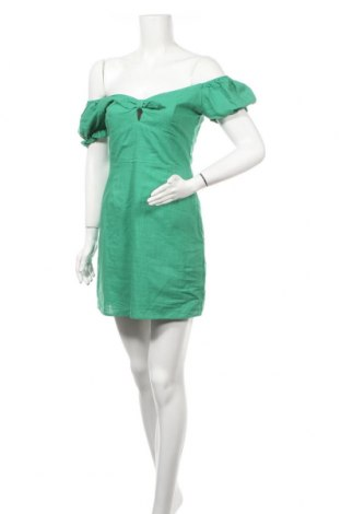 Рокля Glamorous, Размер M, Цвят Зелен, Памук, Цена 19,78лв.