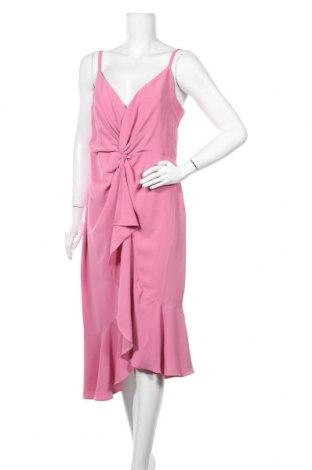 Φόρεμα Lipsy London, Μέγεθος L, Χρώμα Ρόζ , Πολυεστέρας, Τιμή 35,79€