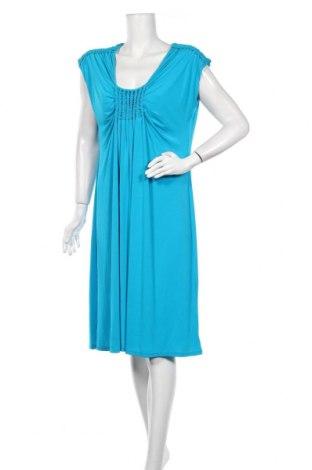 Φόρεμα Max Mara Studio, Μέγεθος XXL, Χρώμα Μπλέ, 92% βισκόζη, 8% ελαστάνη, Τιμή 92,07€