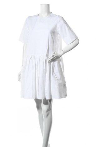 Φόρεμα Mbym, Μέγεθος M, Χρώμα Λευκό, 55% πολυεστέρας, 45% βαμβάκι, Τιμή 14,29€