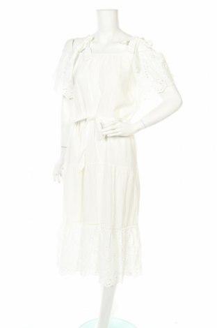 Φόρεμα Mbym, Μέγεθος M, Χρώμα Λευκό, Βαμβάκι, Τιμή 25,34€