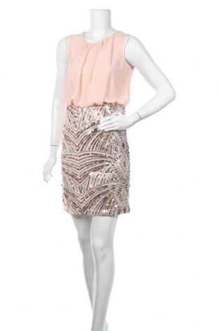 Рокля Vero Moda, Размер S, Цвят Розов, Полиестер, Цена 18,00лв.