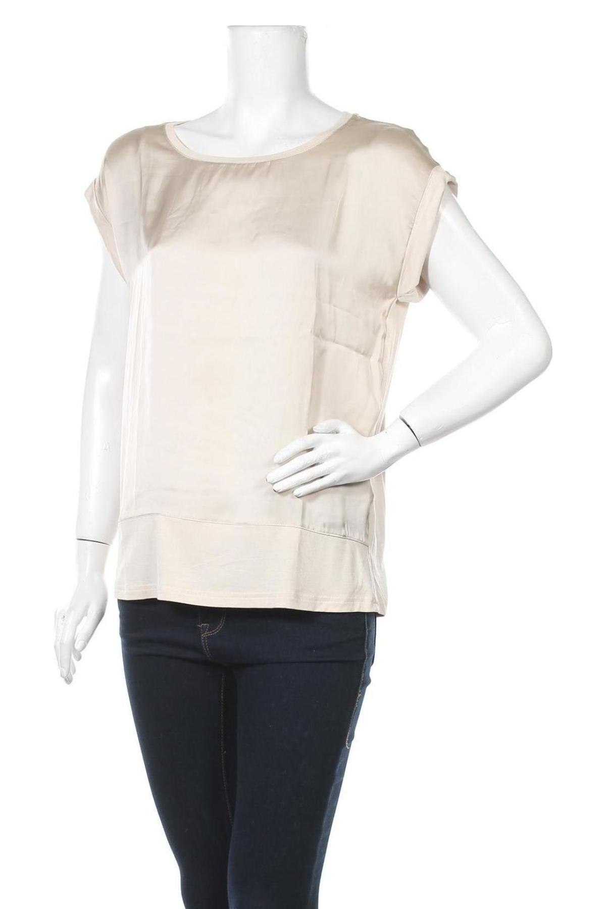 Γυναικεία μπλούζα Soya Concept, Μέγεθος S, Χρώμα  Μπέζ, Πολυεστέρας, βισκόζη, ελαστάνη, Τιμή 15,08€