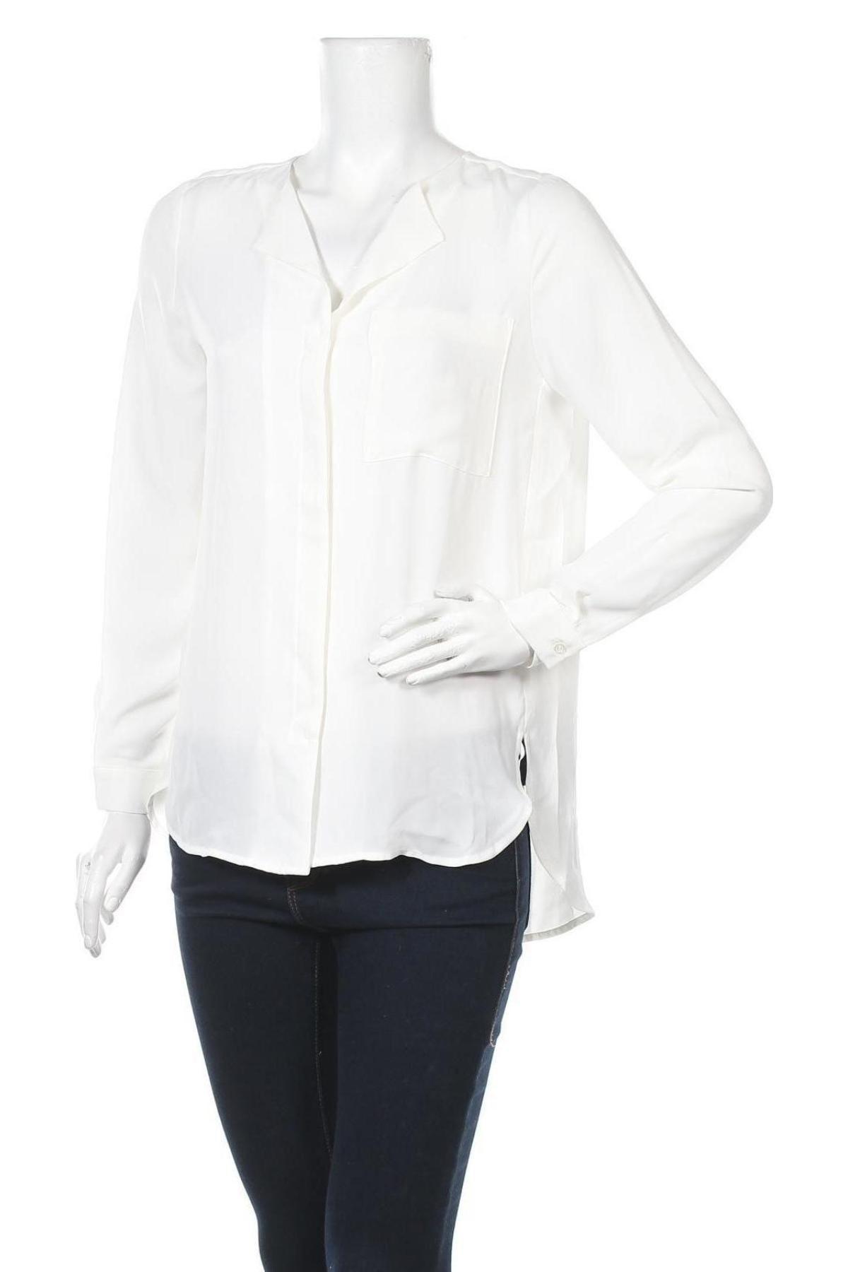 Дамска риза Selected Femme, Размер XS, Цвят Бял, Полиестер, Цена 12,24лв.