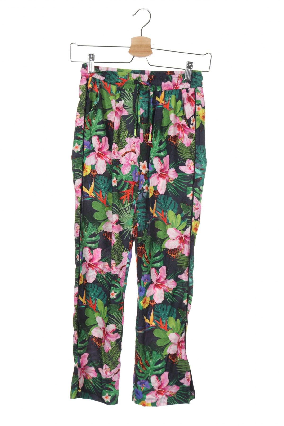 Детски панталон Vingino, Размер 11-12y/ 152-158 см, Цвят Многоцветен, Вискоза, Цена 39,00лв.