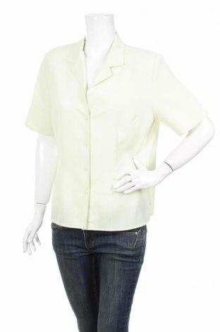 Дамска риза Vera Classic, Размер M, Цвят Жълт, Полиестер, Цена 4,62лв.