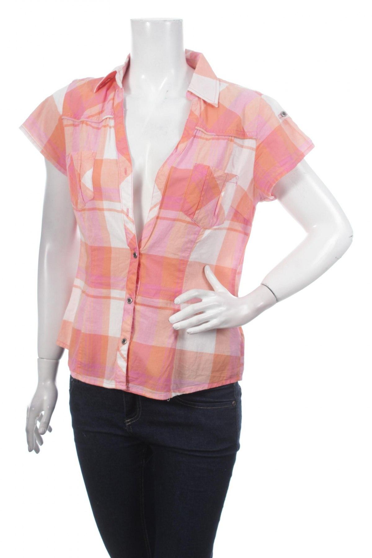 Γυναικείο πουκάμισο Colours Of The World, Μέγεθος L, Χρώμα Πολύχρωμο, 100% βαμβάκι, Τιμή 9,28€
