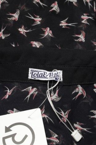 Γυναικείο πουκάμισο Lola & Liza, Μέγεθος M, Χρώμα Μπλέ, Τιμή 11,75€