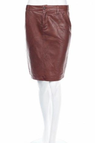 Skórzana spódnica Ralph Lauren