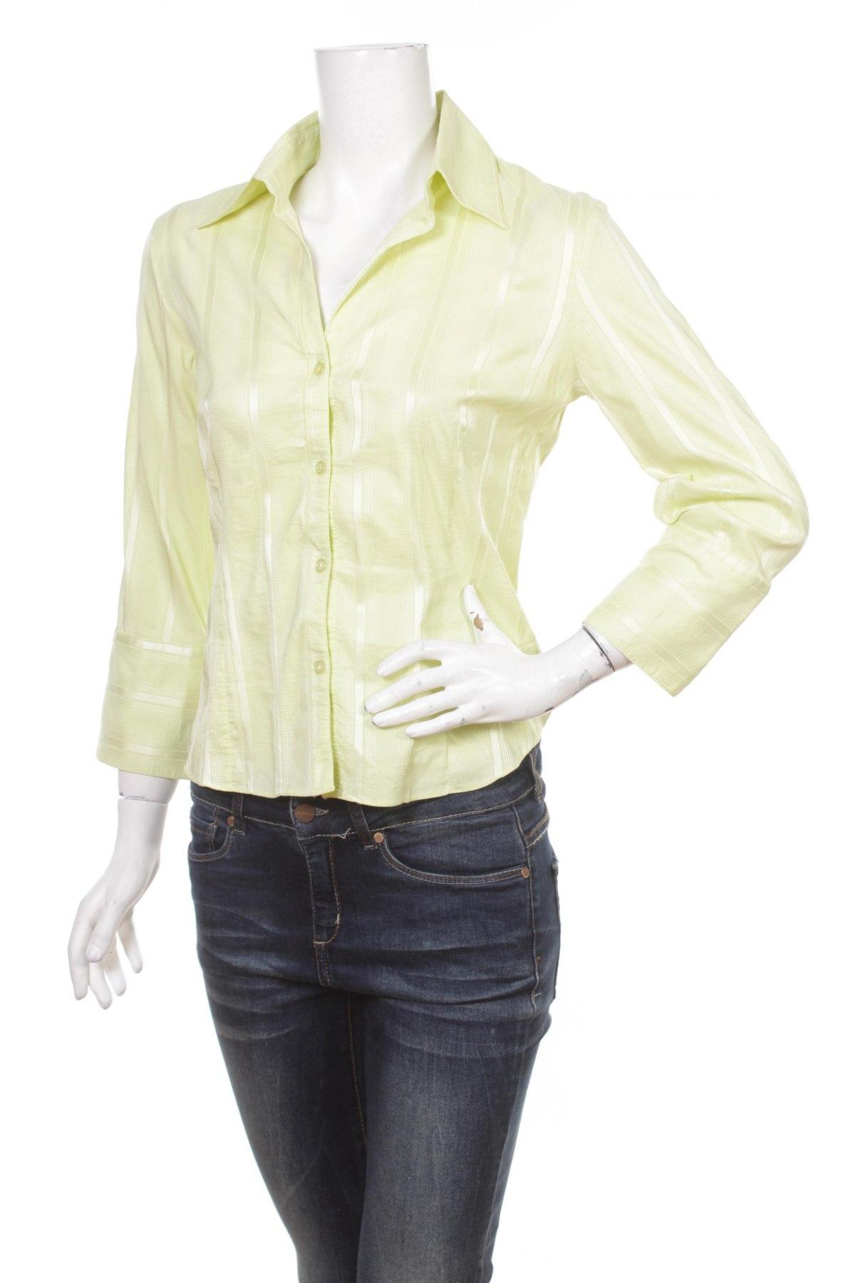 Γυναικείο πουκάμισο H&M, Μέγεθος S, Χρώμα Κίτρινο, Τιμή 15,46€