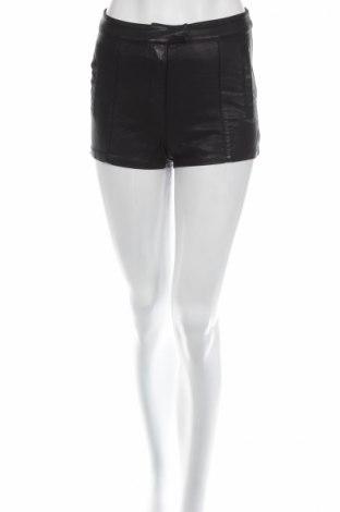 Pantaloni scurți de piele barbați Bardot