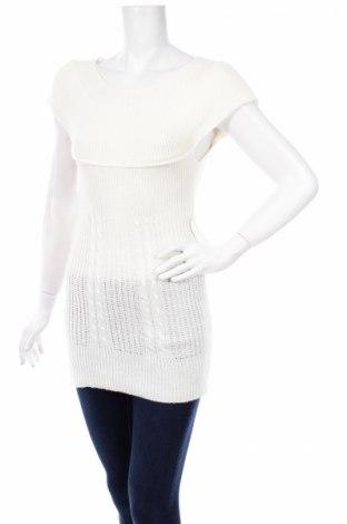 Дамски пуловер, Размер S, Цвят Бял, 70% акрил, 30% вълна, Цена 6,76лв.