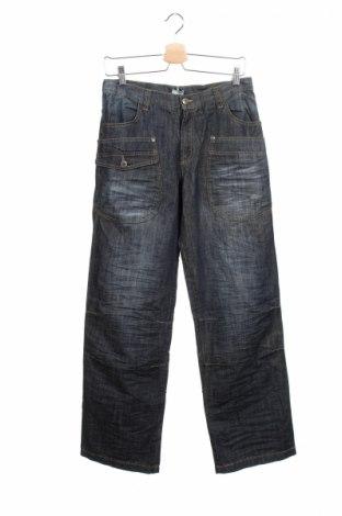 Детски дънки Mandarino, Размер 15-18y/ 170-176 см, Цвят Син, 100% памук, Цена 12,50лв.