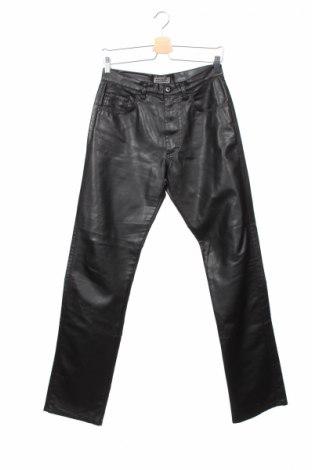 Panteloni din piele pentru bărbați Driver Jeans