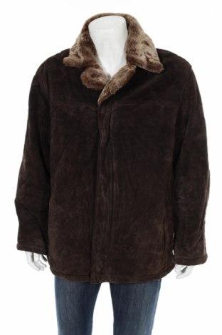 Palton de piele pentru bărbați