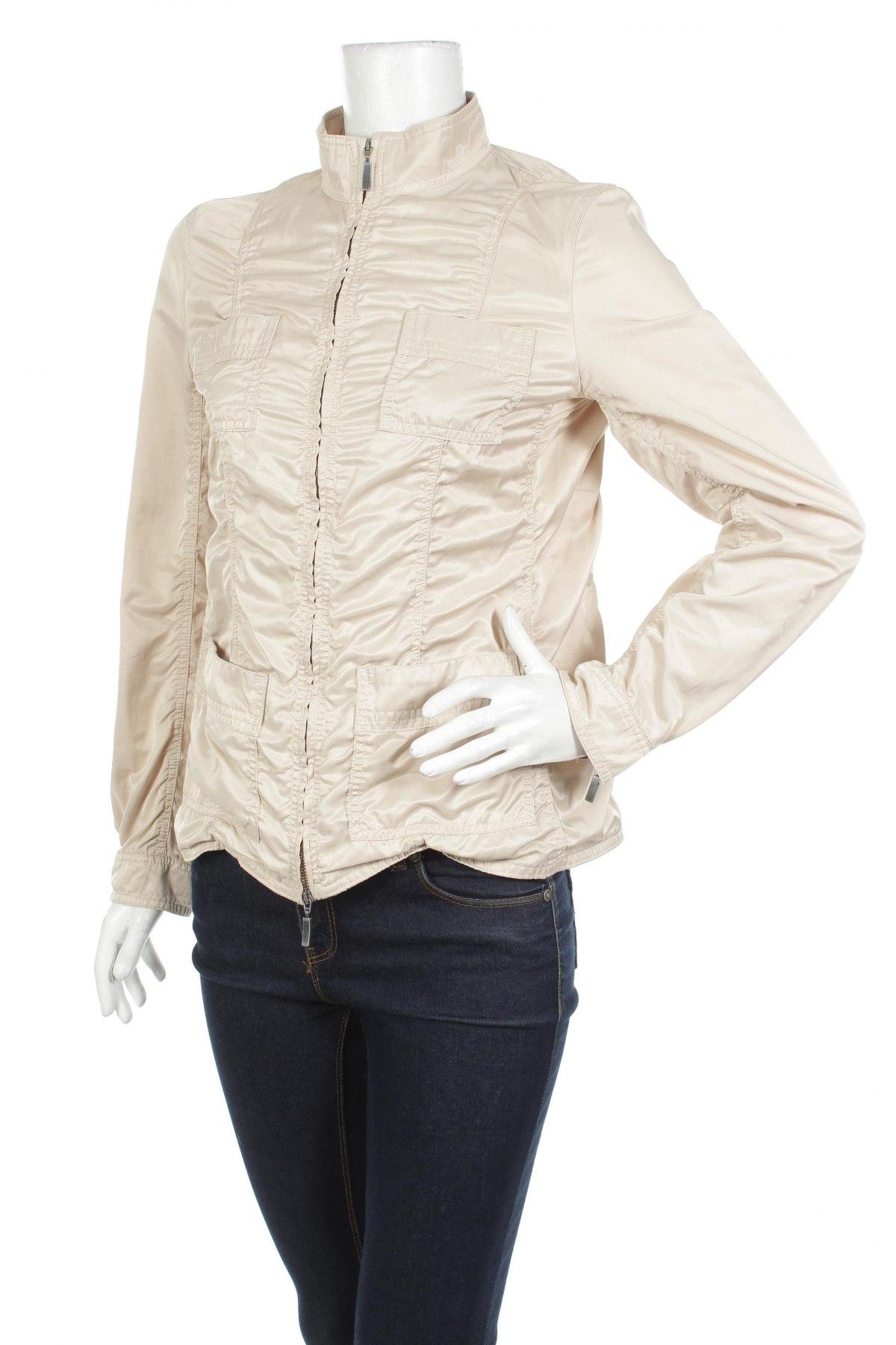 Дамско яке Betty Barclay, Размер M, Цвят Бежов, 53% полиестер, 47% памук, Цена 52,00лв.
