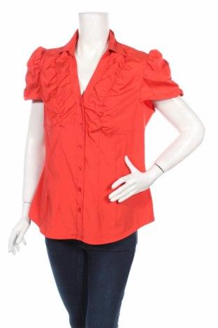 Дамска риза Antilia Femme, Размер L, Цвят Червен, 77% полиестер, 20% полиамид, 3% еластан, Цена 7,80лв.