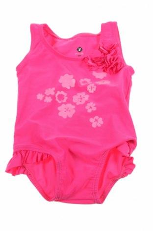 Детски бански Grain De Ble, Размер 3-6m/ 62-68 см, Цвят Розов, 81% полиамид, 19% еластан, Цена 13,44лв.