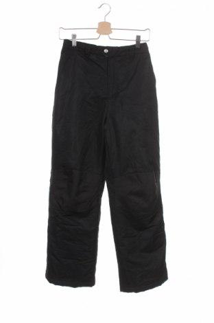 Детски панталон за зимни спортове Faded Glory, Размер 13-14y/ 164-168 см, Цвят Черен, 100% полиестер, Цена 12,00лв.