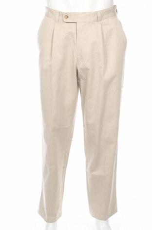 Мъжки панталон Abrams, Размер M, Цвят Бежов, 100% памук, Цена 11,60лв.