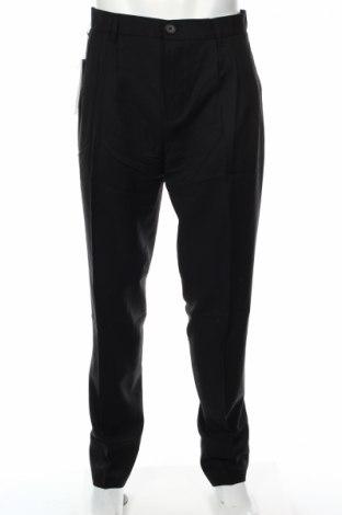 Ανδρικό παντελόνι Adidas Slvr, Μέγεθος L, Χρώμα Μαύρο, 80% μαλλί, 20% πολυαμίδη, Τιμή 17,71€