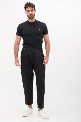 Pánske nohavice  Adidas Slvr, Veľkosť M, Farba Čierna, Bavlna, Cena  19,48€