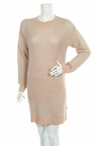 Šaty  Love Moschino, Rozměr M, Barva Béžová, 37% vlna, 38%acryl, 25% polyester, Cena  5121,00Kč