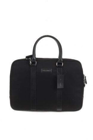 Чанта за лаптоп Azzaro, Цвят Черен, Текстил, еко кожа, Цена 103,60лв.