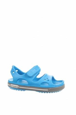 Детски сандали Crocs, Размер 27, Цвят Син, Полиуретан, Цена 47,20лв.
