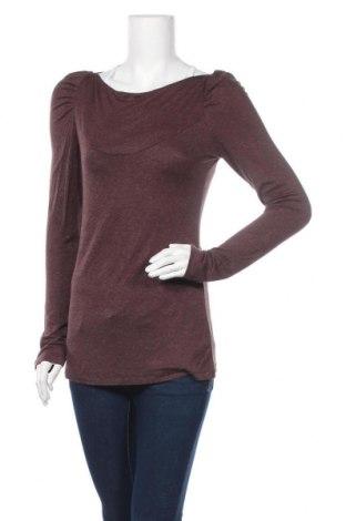 Γυναικεία μπλούζα Bisou Bisou By Michele Bohbot, Μέγεθος M, Χρώμα Καφέ, 83% βισκόζη, 14% πολυεστέρας, 3% ελαστάνη, Τιμή 14,81€