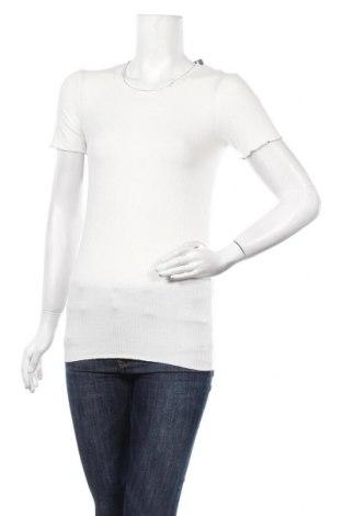 Γυναικεία μπλούζα Cache Cache, Μέγεθος XS, Χρώμα Λευκό, 95% βισκόζη, 5% ελαστάνη, Τιμή 8,23€