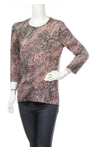Γυναικεία μπλούζα Damart, Μέγεθος M, Χρώμα Πολύχρωμο, 76% πολυεστέρας, 9% πολυαμίδη, 9% μεταλλικά νήματα, 5% ελαστάνη, Τιμή 8,31€