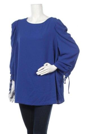 Γυναικεία μπλούζα Dorothy Perkins, Μέγεθος XXL, Χρώμα Μπλέ, 95% πολυεστέρας, 5% ελαστάνη, Τιμή 17,42€