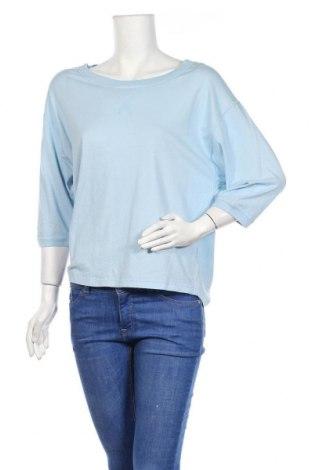 Дамска блуза Esisto, Размер S, Цвят Син, Памук, Цена 5,72лв.