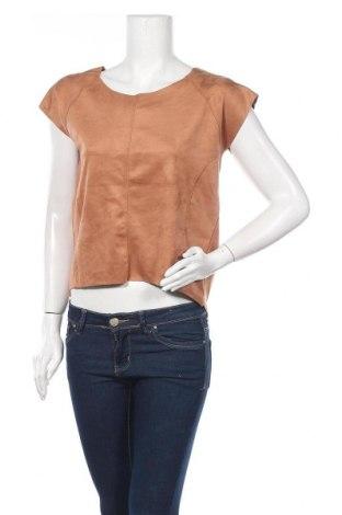 Γυναικεία μπλούζα Esmara, Μέγεθος S, Χρώμα Καφέ, 93% πολυεστέρας, 7% ελαστάνη, Τιμή 3,64€
