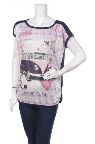 Γυναικεία μπλούζα Inside, Μέγεθος M, Χρώμα Μπλέ, Πολυεστέρας, Τιμή 4,42€