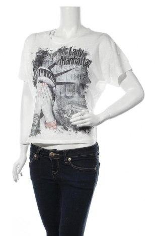 Γυναικεία μπλούζα Inside, Μέγεθος S, Χρώμα Λευκό, Πολυεστέρας, Τιμή 7,44€