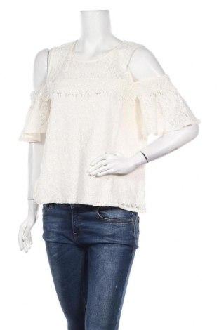 Γυναικεία μπλούζα Jennyfer, Μέγεθος M, Χρώμα Λευκό, 85% βαμβάκι, 15% πολυαμίδη, Τιμή 7,09€