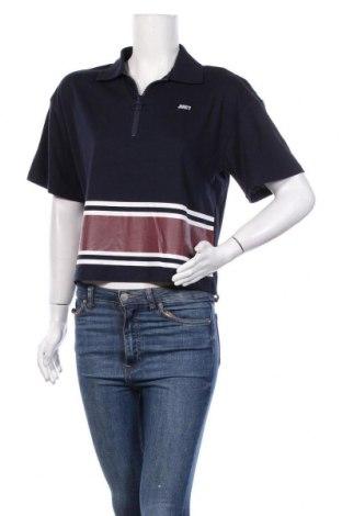 Дамска блуза Juicy Couture, Размер M, Цвят Син, 60% памук, 40% полиестер, Цена 44,85лв.