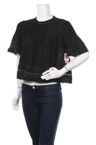 Дамска блуза Juicy Couture, Размер M, Цвят Черен, 100% памук, Цена 48,10лв.