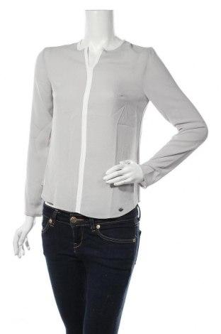 Дамска блуза Le Phare De La Baleine, Размер S, Цвят Сив, 97% полиестер, 3% еластан, Цена 36,57лв.