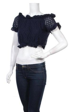 Γυναικεία μπλούζα Lefties, Μέγεθος M, Χρώμα Μπλέ, 65% πολυαμίδη, 35% βαμβάκι, Τιμή 5,54€
